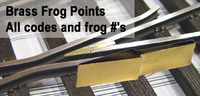 Brass Frog Points (Click HERE for options)