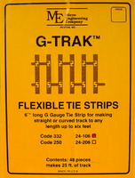 Code 332 Flexible Tie Strips (48 per/box)